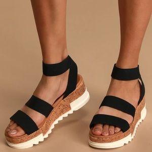 Steve Madden Platform Bandi Sandals